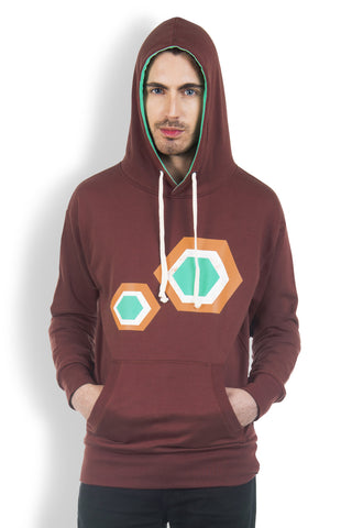 DUSG - Honey Comb Hoody in Fair Trade Organic Cotton