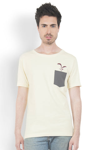 DUSG - Just Beet It Pocket tee in Fair Trade Organic Cotton