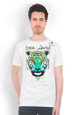 DUSG - Tiger Free Spirit Tee made from Fair Trade Organic Cotton
