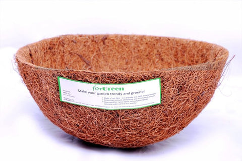 For Green Coir Liner 10'' 2-3mm thickness