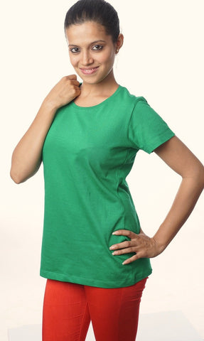 Indophile Parrot Green Organic T Shirt