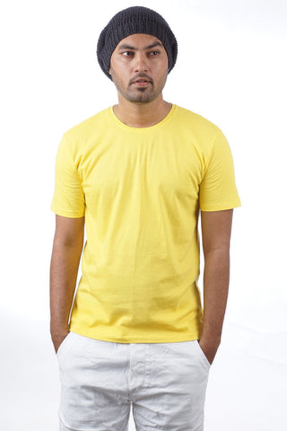 Indophile Bright Yellow Organic T Shirt