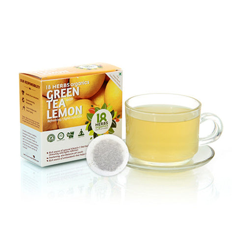 18 Herbs Premium Green Tea With Lemon