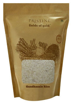 Pristine Organic Fields 'O' Gold - Gandhasale Rice