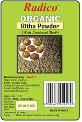 Organic Reetha Powder