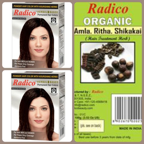 Radico Natural Hair Colour Basket for Men & Women(1)
