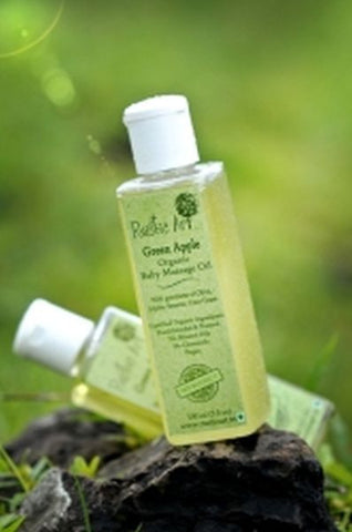 Organic Baby Oil (Green Apple)