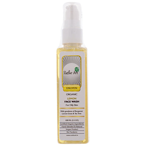 Organic Face Wash (Lemon)