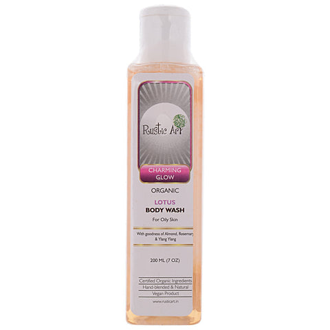 Organic Lotus Body Wash