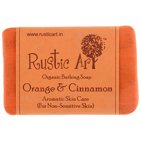 Organic Orange & Cinnamon Soap