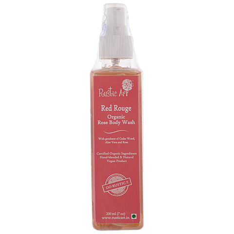 Organic Rose Body Wash