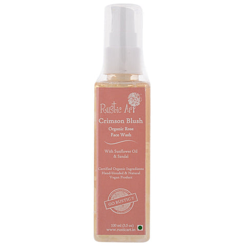 Organic Face Wash (Rose)