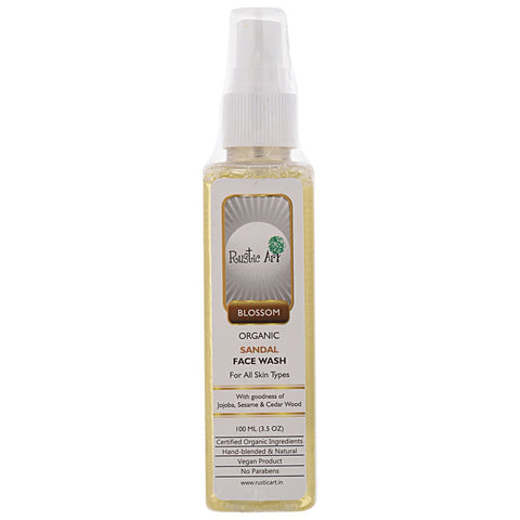 Organic Face Wash (Sandal)