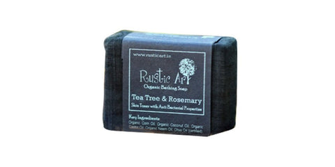 Organic Tea Tree & Rosemary Soap