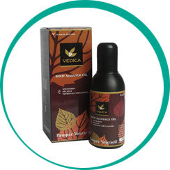 Vedica Body Massage Oil