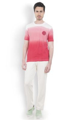 DUSG - Root Chakra Mens Yoga T-Shirt in Organic Cotton