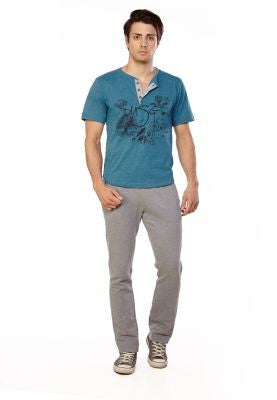 DUSG - 100% Recycled - Mens Free Spirit T-shirt  with print on chest