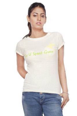 DUSG - DUSG Classic Crew Top in Hemp & Organic Cotton blend for Women