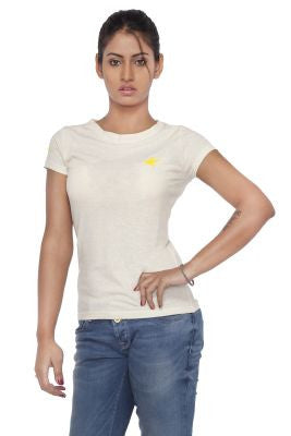 DUSG - DUSG Classic Wide Neck Top in Hemp & Organic Cotton blend for Women