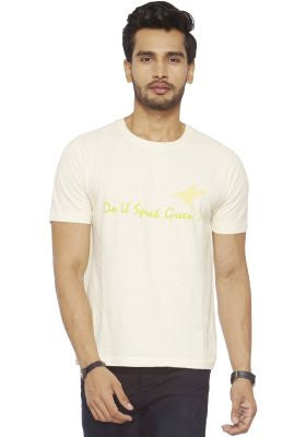 DUSG - Hemp-Organic blend basic round Neck T-shirt for Men