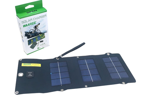 Waaree 5Wp foldable Solar Panel