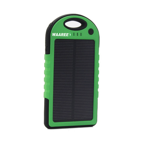 Waaree 5000 mAh Water Proof Solar Power Bank