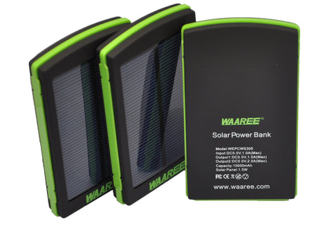 Waaree 10000 mAh Solar Power Bank