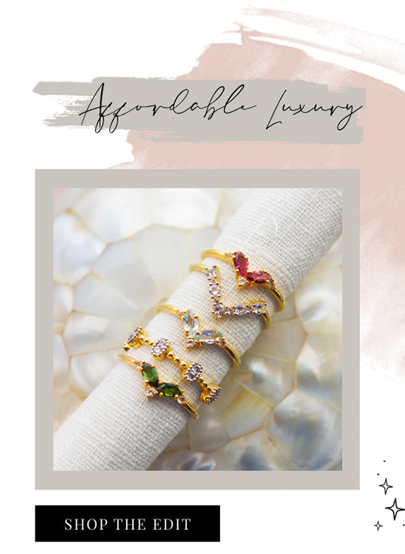 Shop afforable luxurious jewellery