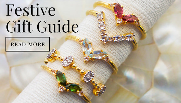 Shop Carrie Elizabeth Jewellery Festive Gift Guide