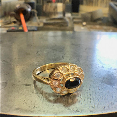 Redesigning and recycling jewellery process