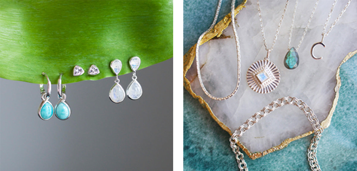 Silver jewellery gifts