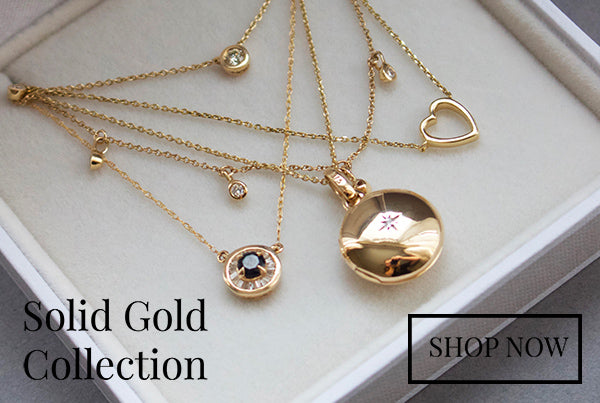 Carrie Elizabeth Solid Gold Jewellery