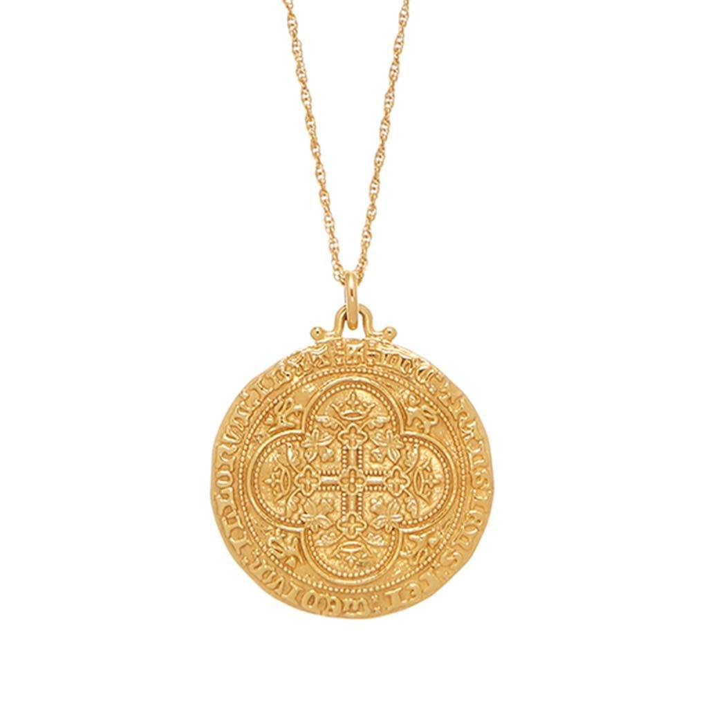 14k Gold Vermeil Heirloom Coin - Carrie Elizabeth