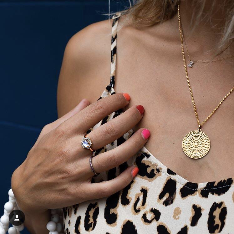 "14k Gold Vermeil Large Aztec Disc Pendant Necklace  20""+, Best Seller, Gold, necklace, over-80"