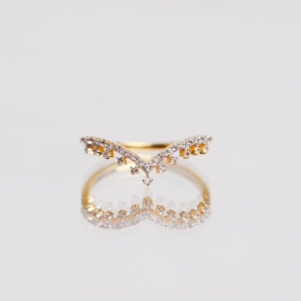 14k Solid Gold Tiara Diamond Band 550.00 14k Solid Gold, Bands, Diamond, over-80, ring, Solid Gold, Wedding