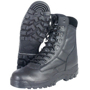 All-Leather Patrol Boots