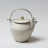 "Katsufumi Baba, Teapot in ""Kohiki"" matt finish with pewter handle"