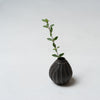 Katsufumi Baba, Small vase in black glaze