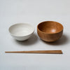 Katsufumi Baba, Japanese bowl - matt white finish