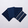 Marukawa Shoten Cotton offcuts 20 assorted pack in indigo - Matsusaka Momen