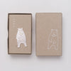 Mariko Kitano, Pin badge in solid silver featuring a bear