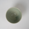 Small bowl in olive green glaze