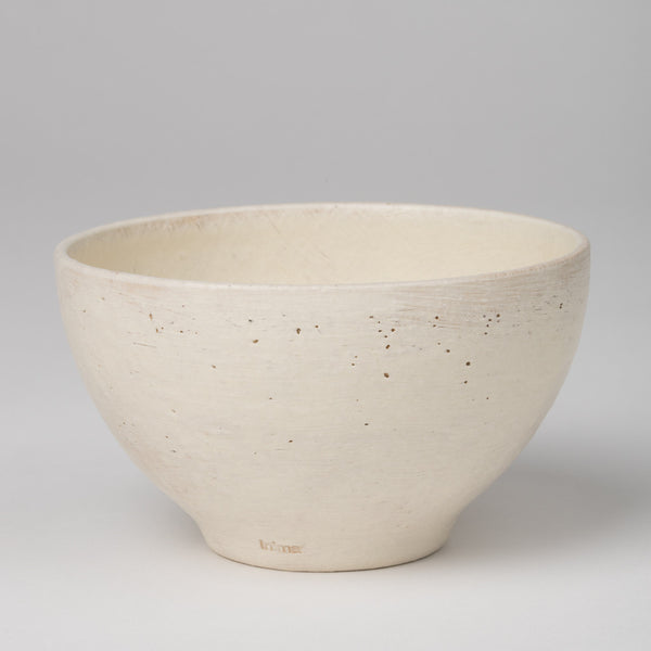 Bowl in white