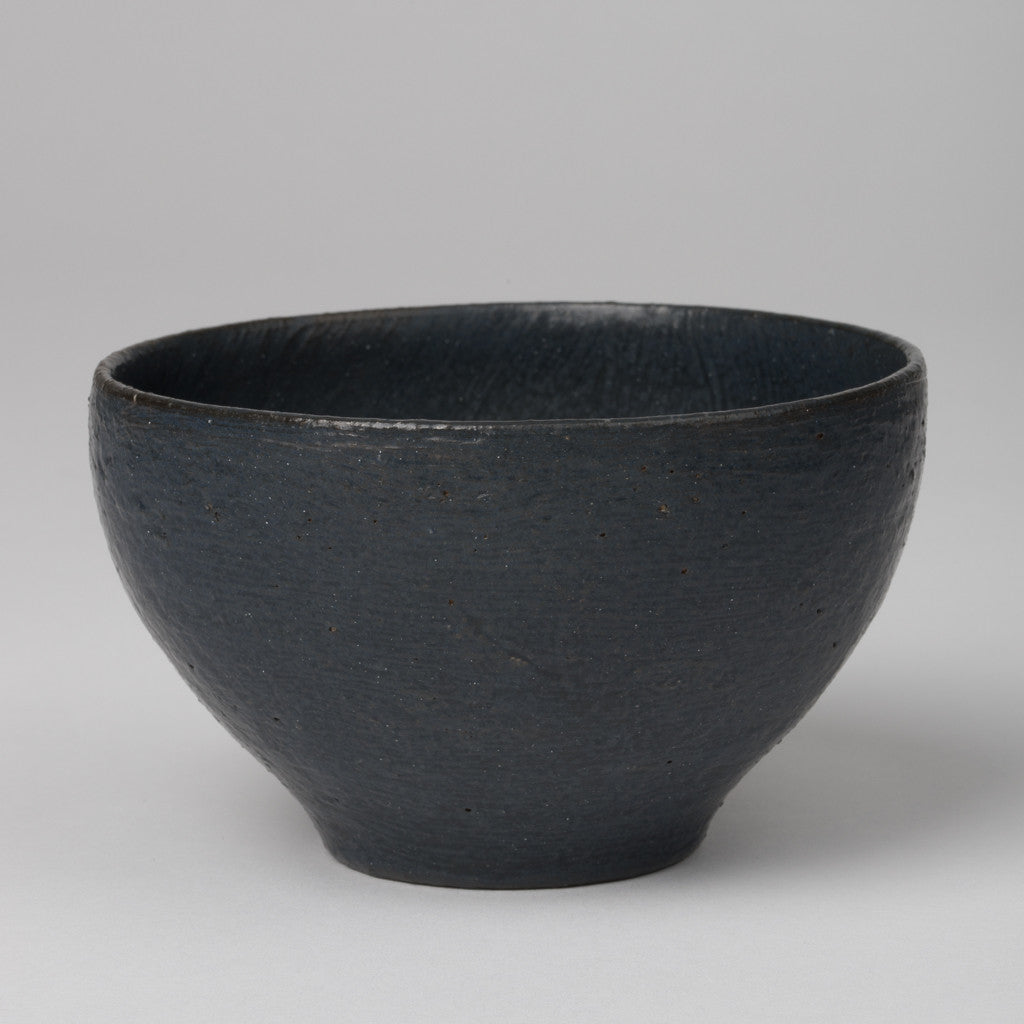 Bowl in dark blue-gray