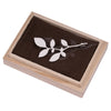 Mariko Kitano, Mountain Leaves - solid silver brooch