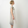 """Only One"" ""Suton-T"" cotton summer dress khaki, side"
