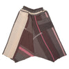 """Only One"" Tarun pants (divided skirt) long in wool & cotton - brown & pink, normal 1"