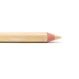 Shimarz Highlighter Concealer Duo Pencil - 95% Natural, Vegan & Gluten Free