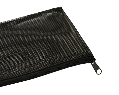 Black Mesh Makeup Bag Case