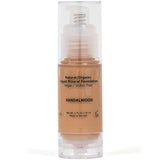 Shimarz Mineral Liquid Foundation - All Natural, 90% Organic, Vegan, Cruelty Free & Gluten Free